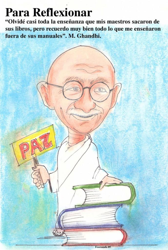 caricatura_Ghandhig