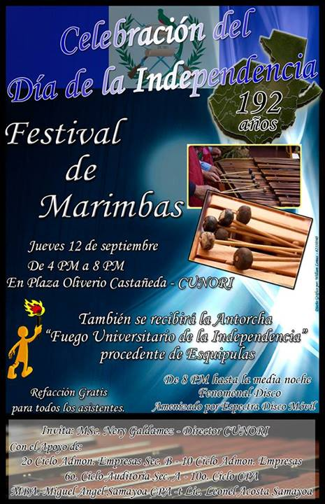 festival marimbas