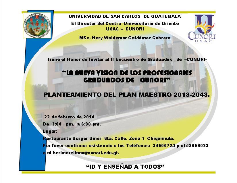 INVITACION GRADUADOS  2