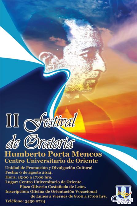 II festival de oratoria